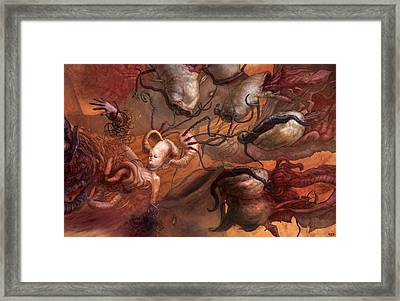 An Echo In The Diffusion Framed Print by Ethan Harris