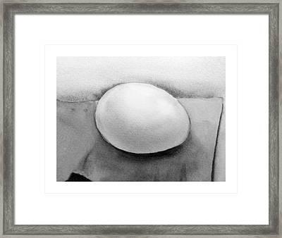 An Egg Study Four Framed Print by Irina Sztukowski