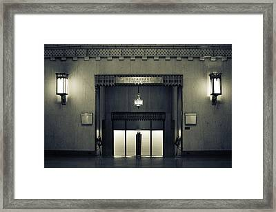 An Elegant Escape - Chicago Framed Print