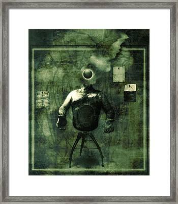An Empty Wait Framed Print by JC Swart
