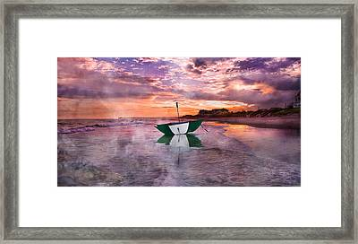 An Enchanting Evening Framed Print by Betsy Knapp