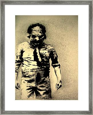 'an Encounter' Framed Print by Jack Wells