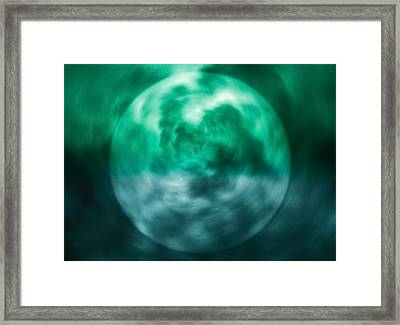 Framed Print featuring the photograph Green Energy by Kellice Swaggerty