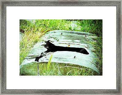 An Escaped Soul Framed Print