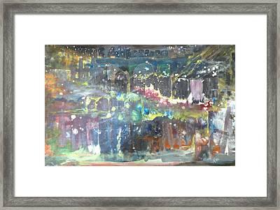 An Evening At The Hilltown Framed Print