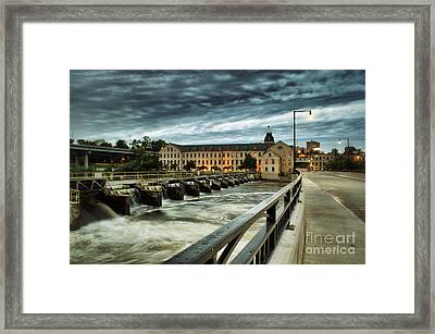 An Evening Down In The Flats Framed Print