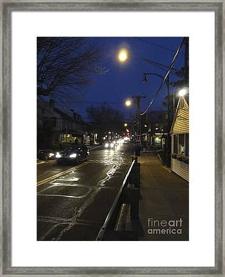 An Evening For Robert Beck Framed Print