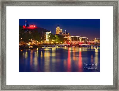 An Evening In Amsterdam Framed Print by Henk Meijer Photography