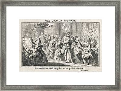 "An Evening Party  ""well This Framed Print"