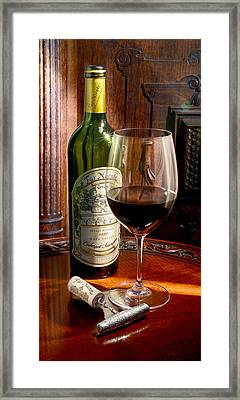 An Evening With Far Niente Framed Print