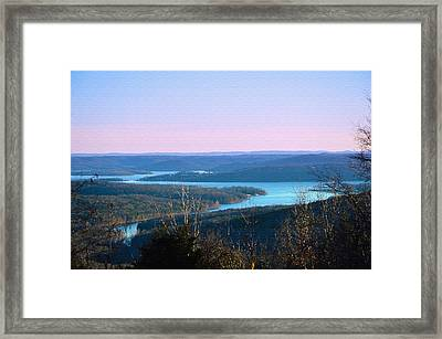 An Everyday View Framed Print by Lena Wilhite