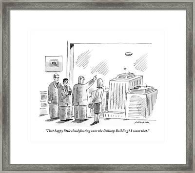 An Executive Framed Print