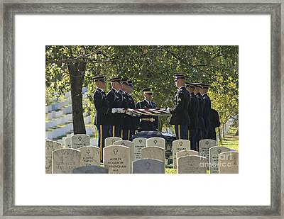 An Honored Dead Framed Print