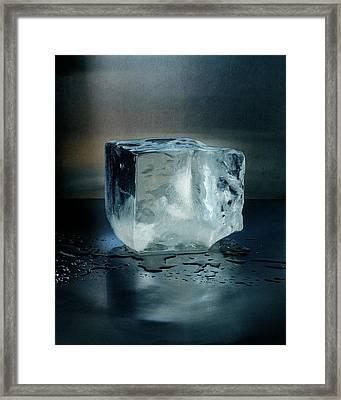 An Ice Cube Framed Print