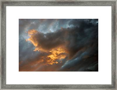 .....an Ill Wind That Blows Framed Print