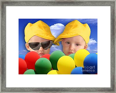 An Image Of A Photograph Of Your Child. - 07a Framed Print