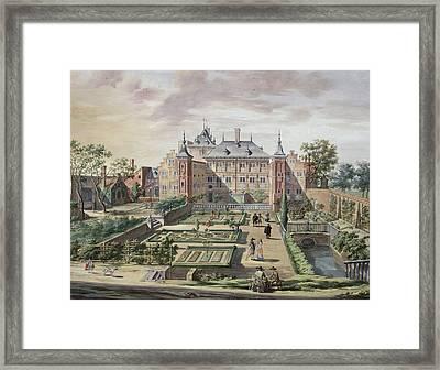 An Imaginary View Of Het Tolhuis Framed Print