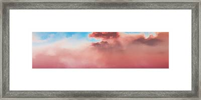 Cloudscape Impression Framed Print by Kellice Swaggerty