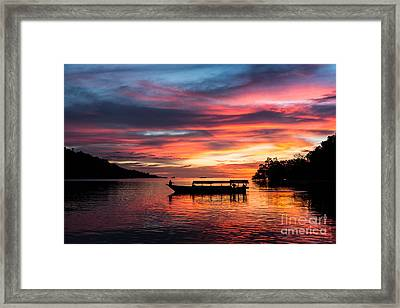 An Indonesian Dream Framed Print