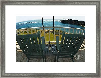 An Inn On The Pacific Coast Framed Print