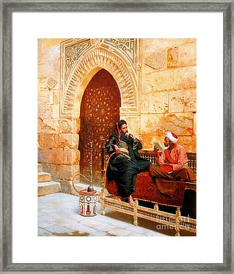 An Innocent Smile Framed Print by Celestial Images