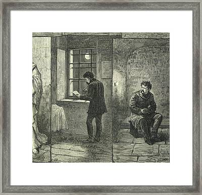 An Irish M.p. In Prison Framed Print by British Library