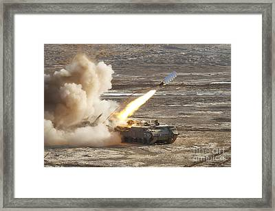 An Israel Defense Force Puma M26 Framed Print