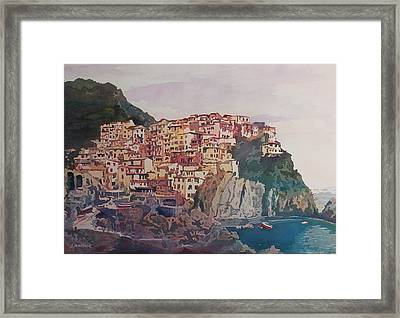 An Italian Jewel Framed Print by Jenny Armitage