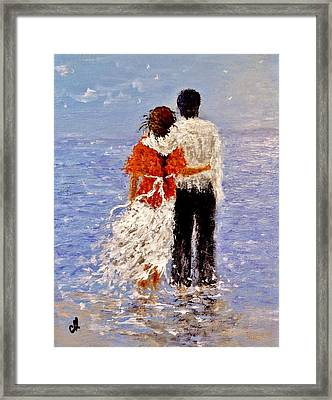An Ocean Of Love.. Framed Print