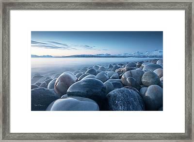 An Ocean Of Time Framed Print