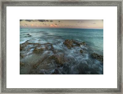 An Ocean View Off The Coast Of Cat Framed Print