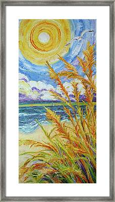 An Ocean View Framed Print by Paris Wyatt Llanso
