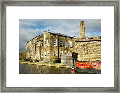 An Old Cotton Mill Converted Into Housing Framed Print