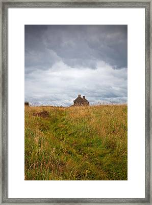 An Old Deserted Cottage At Rosses Framed Print by Panoramic Images