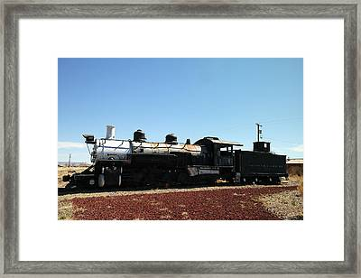 An Old Engine Framed Print by Jeff Swan