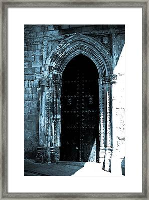 An Old Entrance Framed Print by Syed Aqueel