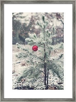 An Old Fashion Christmas  Framed Print