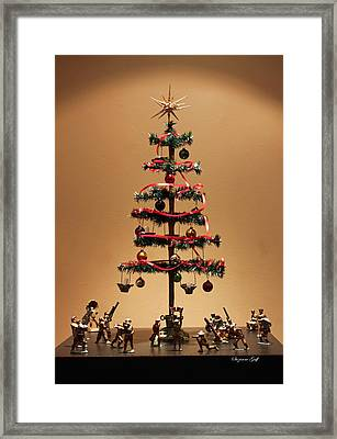 An Old Fashioned Christmas Tree II Framed Print by Suzanne Gaff