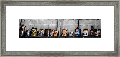An Old Mechanic's Ingredients Framed Print by Kaleidoscopik Photography