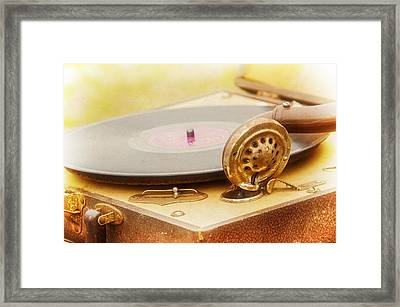 An Old Song Framed Print by Carolyn Marshall
