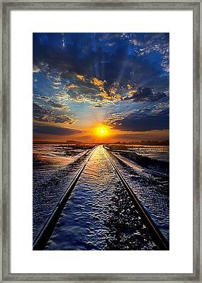 An Old Song Framed Print by Phil Koch