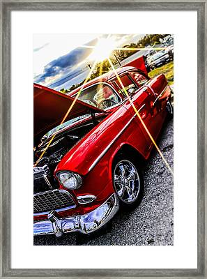 An Oldie But A Goody  Framed Print by Chris Mitchell