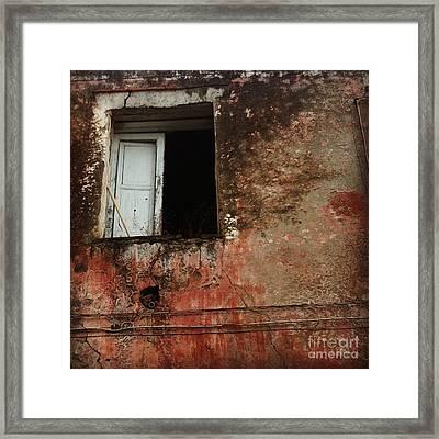 An Open Door Framed Print by H Hoffman