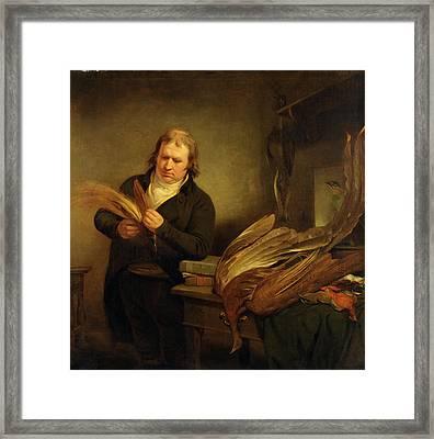 An Ornithologist, Probably John Latham An Ornithologist Framed Print