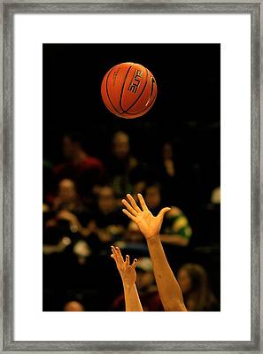 An Outstretched Hand Framed Print