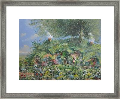 An Unexpected Adventure.the Story Begins. Framed Print by Joe  Gilronan