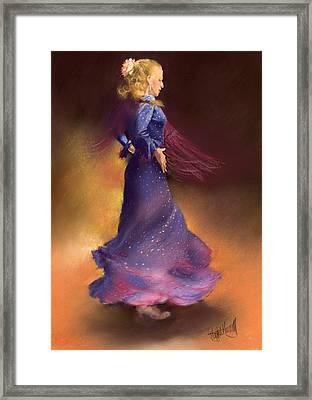 Ana Framed Print by Margaret Merry