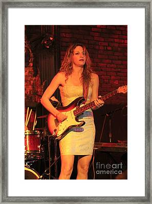 Guitarist Ana Popovic Framed Print by Concert Photos