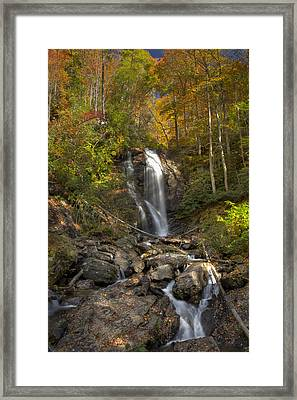 Ana Ruby Falls Autumn 2 Framed Print by Penny Lisowski