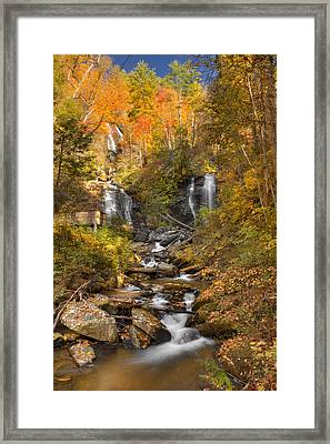 Ana Ruby Falls Autumn 3 Framed Print by Penny Lisowski